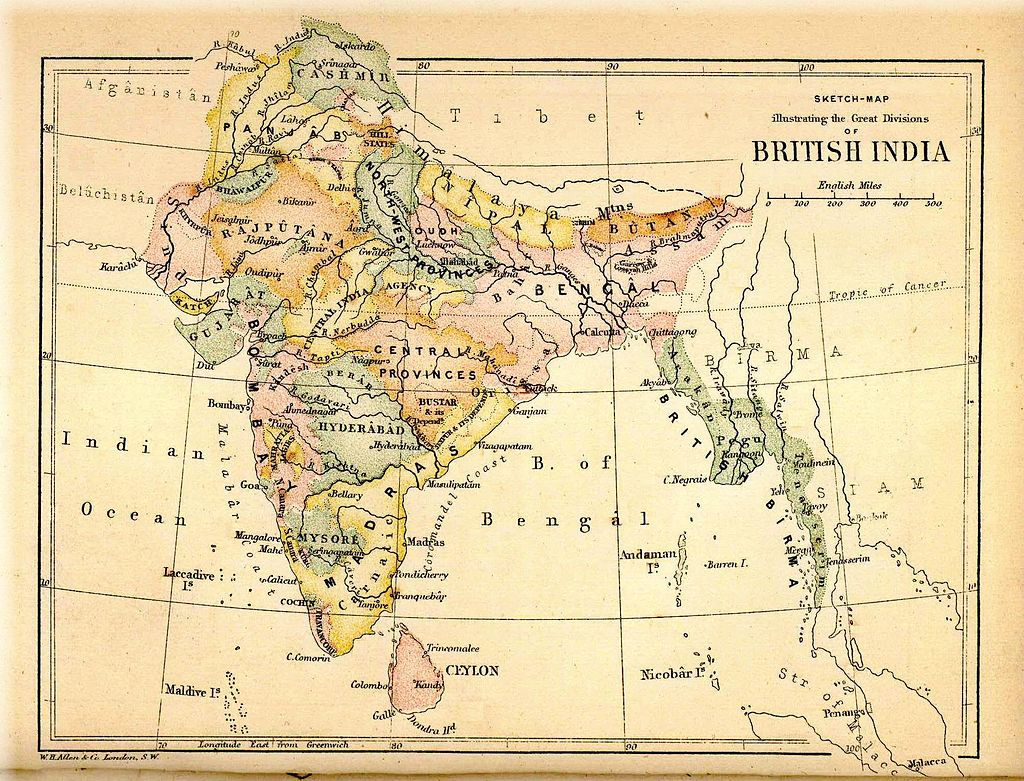 1880 British India