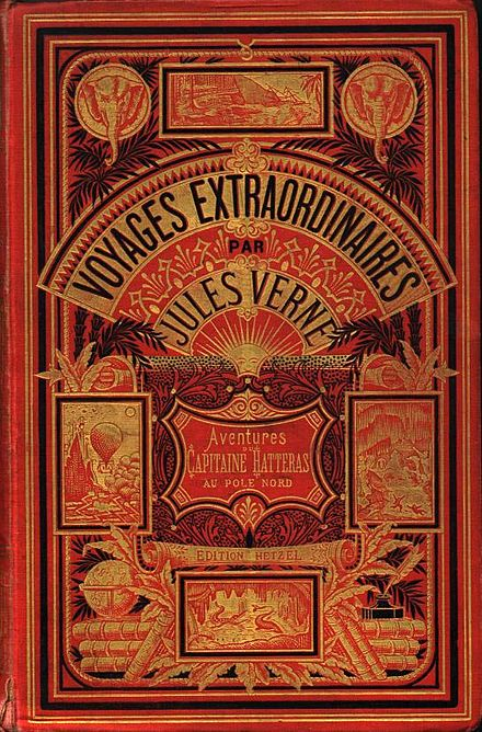 A volume from Jules Verne's vast output