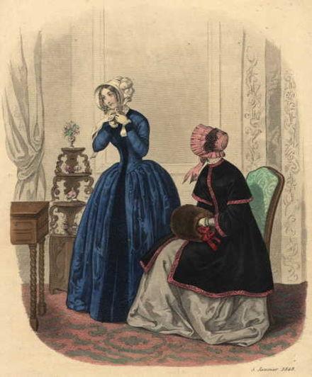 FASHION PLATE 1848