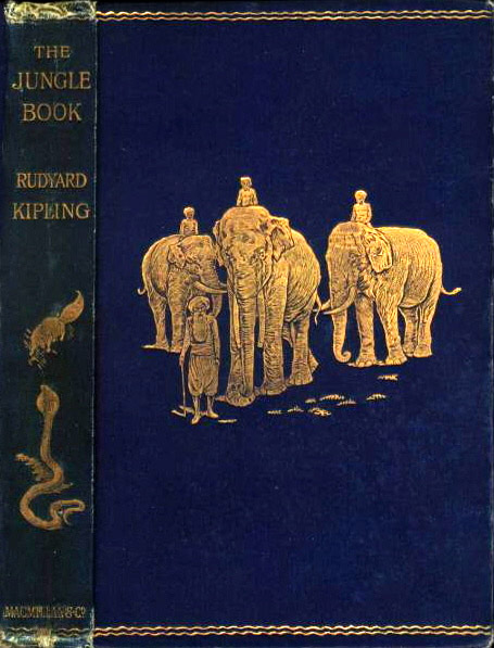 Original edition, with decorations based on art by Kipling's father
