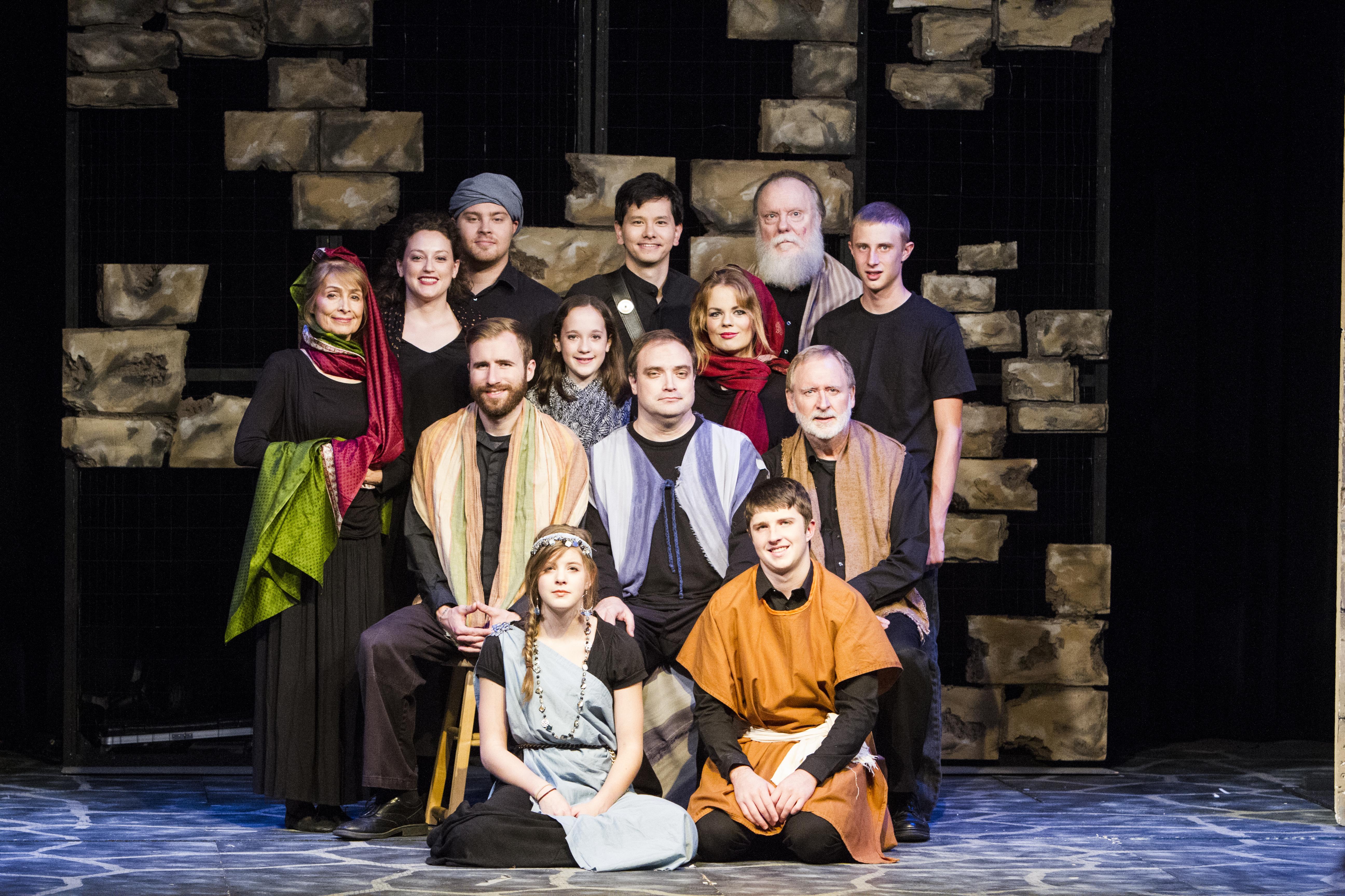 "The cast of ""Prisoner of Joy"""